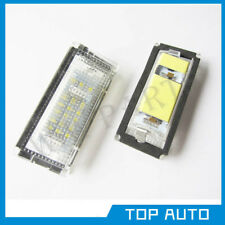 2 For BMW E46 4D Error Free License Number Plate Light 3528 SMD LED Lamp Bulbs