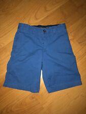 Crown & Ivy Motion Flex Boy's Size 10 Blue Chino Shorts