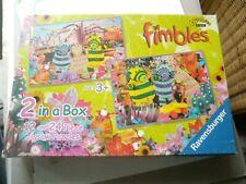 FIMBLES   2 x puzzle's in box
