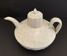 Song Qingbai Glaze Ceramic Wine Pot w/cover