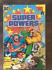 Australian Dc Super Powers Issue 4 Jla Superman, Batman, Wonder Women, Aquaman,