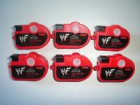 WWF WRESTLING MINI VIEWERS CAMERAS SET TOMY - FIGURES COLLECTIBLES MINIATURES