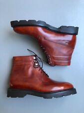 New John Lobb Alder Boots Chesnut Brown Size UK6 (E) Standard Widt RRP £1,445.00
