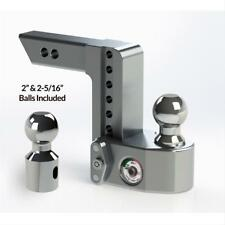 """Weigh Safe WS6-2 Adjustable 6"""" Drop Hitch Ball Mount w/2"""" Shaft & Weight Scale"""