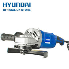 "Hyundai HY2157 Angle Grinder Corded Electric 230V 9"" Angle Grinder Power Tool"