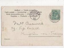 Mrs Creswick Fife Road Kingston On Thames 1903  865a