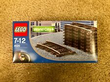 LEGO 4520 World City 9V Curved Tracks for LEGO Trains Sealed Brand New in Box