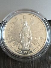 1989-S U.S.  CONGRESSIONAL ONE DOLLAR SILVER PROOF COMMEMORATIVE  COIN