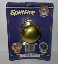 Splitfire electrical gauge mounting cup - Lime, (52mm) SC107E