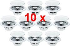 "10 X 5"" 80W 2 WAY MOISTURE RESISTANT CEILING SPEAKERS BATHROOM KITCHEN B402"