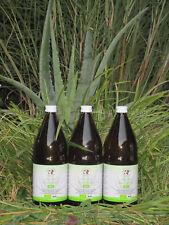 Mother Earth Aloe Vera Bio Direktsaft 100 Prozent 1200 mg/l Aloverose 3 x 1 Ltr.