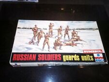 Esci 1/72nd Russian Soldiers Guards Units. Compete on sprue. Part painted