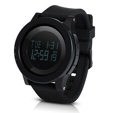 Hiwatch Mens Digital Watch Big Face LED Sport Waterproof Watches for Men