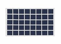 HOUSE BY JOHN LEWIS GRID RUG SIZE 170CM X 110CM IN NAVY / WHITE NEW - RRP £60.00