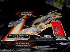 STAR WARS EPISODE 1 ANAKIN SKYWALKER'S POD RACER UNOPENED 1999 W/ FIGURE HASBRO
