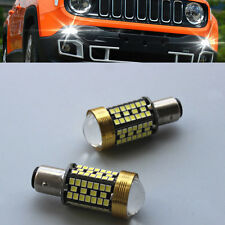 2 No Flash Error Free SMD Cree LED Daytime Running Light For Jeep Renegade 15-17