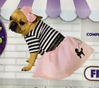 Rubie's 50's Girl Pink Poodle Skirt Pet Dog Halloween Costume- Size Large