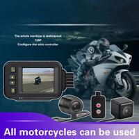 Dual Channels 1080P Motorbike Wifi GPS Dash Cam DVR Loop Recording Camera