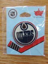 "EDMONTON OILERS Logo 1.5"" Button / Pin WAYNE GRETZKY MARK MESSIER PAUL COFFEY"