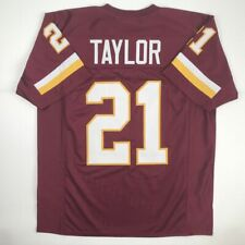 New SEAN TAYLOR Washington Maroon Custom Stitched Football Jersey Size Men's XL