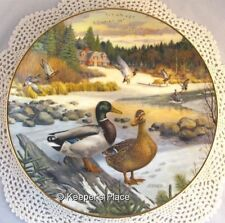 The Mallard 2nd Issue Living With Nature Jerners Ducks Wildlife Society Plate