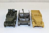 ro1583, Roco Minitanks 3x Kettenfahrzeuge Wehrmacht 1:87 H0 Siehe Fotos!