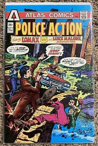 Police Action # 3 Atlas Comics 1975