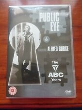 Public Eye: The ABC Years DVD (2012) Alfred Burke cert 12 2 discs like new