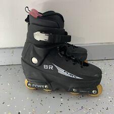 BLADE RUNNER Men's Black Fury Abec 5 Aggressive Roller Blades Size 8 Skate