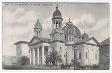 St Joseph's Cathedral San Jose California 1910c postcard