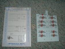 Microscale  decals HO 87-671 CP Rail Intermodel 48' containers tractors   E36