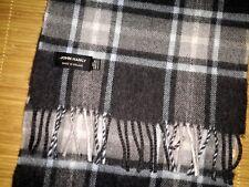 echarpe JOHN HANLY made Irlande 100% laine merinos extra fine super etat mixte