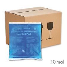 10x KK Kalt-Warm Kompressen 13x14 cm Kühlkompresse Gelkissen Eispack Wärmekissen