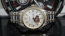 Bulova 98A110 Automatic 21 Jewels Exhibition Caseback Men's Watch ~ $499