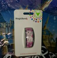 DISNEY PARKS Aristocats Marie Cat PINK Magicband Magic Band Unlinked New