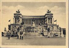ROMA - ALTARE DELLA PATRIA - NV - FG  Associazione Naz. Combattenti Adunata 1938