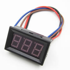 New Dc 0 To 10A Blue Led Panel Meter Mini Digital Ammeter