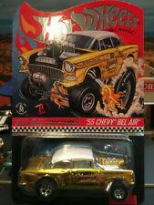 1:64 Hot Wheels LE 2019 RLC Selections 1955 55 Chevy Gasser Dirty Blonde MOC