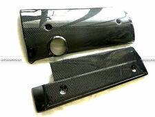 For BMW E46 Carbon Fiber Engine Cover Hood Interior Panel Glossy Fibre Bodykits