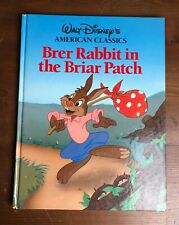 BRER RABBIT in the BRIAR PATCH Walt Disney's American Classic HB Large Starlight