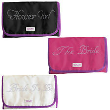 Personalized Cosmetic Travel Crystallized Hanging bag+Kit Toiletry organizer bag