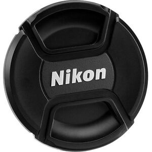 "New ""AF-P LENS ONLY "" NIKON 55mm FRONT LENS CAP-FITS 18-55mm. NOT FOR AF-S or AF"