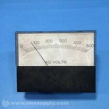 AC VOLT METER GAUGE, 0-500 VOLT USIP