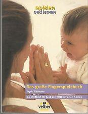 Das große Fingerspielebuch Ingrid Biermann Fingerspielbuch