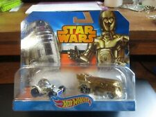 2014 Mattel Hot Wheels Star Wars C-3Po & R2-D2 Two Pack