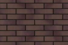 Strangpress Klinker-Riemchen NF-Format Mahogani glatt Riemchen Verblender