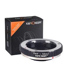 K&F Concept adapter for Olympus Pen F mount lens to Nikon 1 camera J1 V1