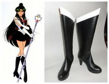 Sailormoon Sailor Moon Pluto Trista Cosplay Costume Boots Boot Shoes Shoe
