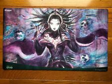Liliana Dreadhorde General Japanese Alternate Art Playmat Mtg War Of The Spark