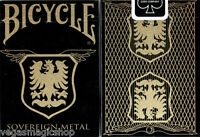 Sovereign Metal Copper Deck Bicycle Playing Cards Poker Size USPCC Limited New